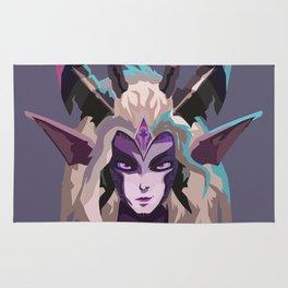 Dragon Sorceress Zyra Rug