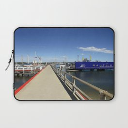 Pier at Lakes Entrance Laptop Sleeve
