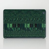 glitch iPad Cases featuring Glitch by Pudding