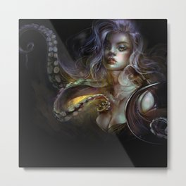 Unfortunate souls - Ursula octopus Metal Print