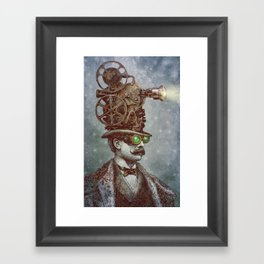 The Projectionist (colour option) Framed Art Print