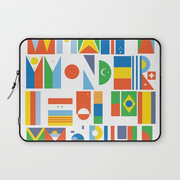 What A Wonderful World II Laptop Sleeve