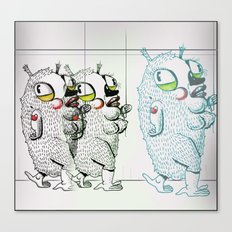 Puffies Canvas Print