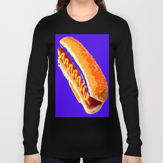 Hot Dog Long Sleeve T-shirt