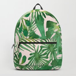 leaf paint drawing Backpack