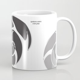 CROW GREY: be independent Coffee Mug