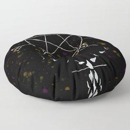 A Tarot of Ink 10 of Pentacles Floor Pillow