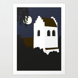 The Church Art Print