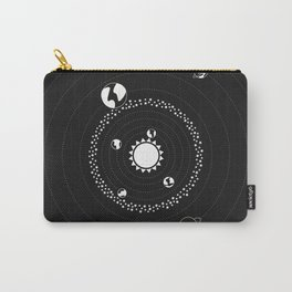 Hit Me - Solar System Illustration Carry-All Pouch