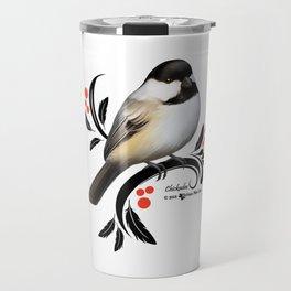 Chickadee Travel Mug
