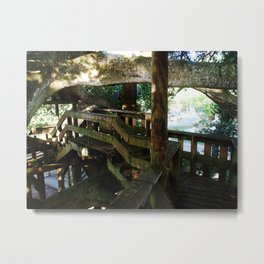 Tree house @ Aguadilla 5 Metal Print