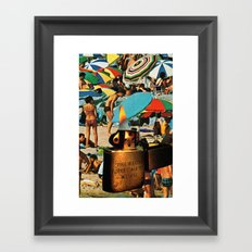 Sunburn Framed Art Print