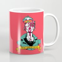 musa Mugs featuring dead and/or dying by musa
