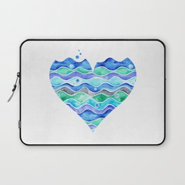A Sea of Love (white) Laptop Sleeve