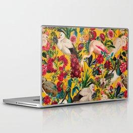FLORAL AND BIRDS XVIII Laptop & iPad Skin