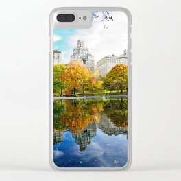 City's Autumn Clear iPhone Case