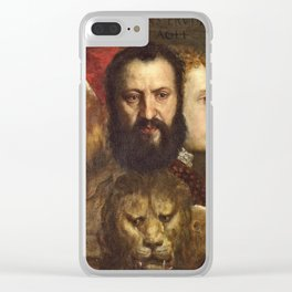 Titian - An Allegory Of Prudence Clear iPhone Case