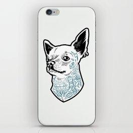 Tattooed Chihuahua iPhone Skin