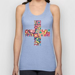 All the Pretty Colors Unisex Tank Top
