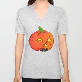 Pumpkin Groom Unisex V-Neck
