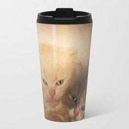 kittens Love Travel Mug