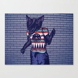 Wolf-Man Canvas Print