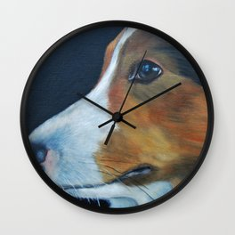 Sheltie Shetland Sheepdog Art Wall Clock