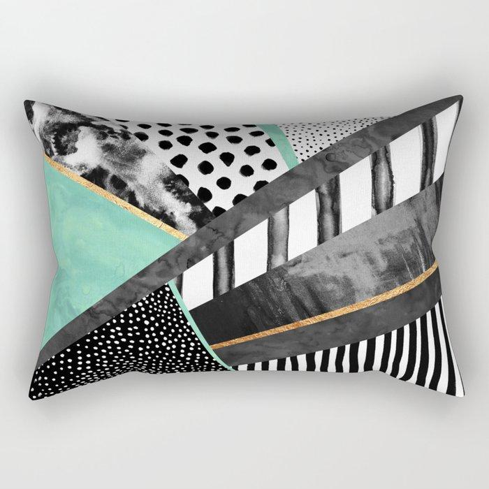 Lines & Layers 3 Rectangular Pillow