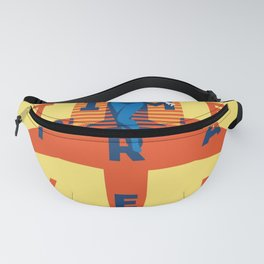 Time to Travel print Fanny Pack
