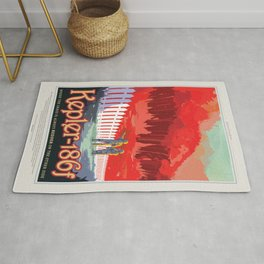 Visions of the Future: Kepler 186f Rug