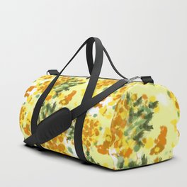 Pineapples Explosion #society6 #pineapples Duffle Bag