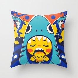 Overbite: Jawbreaker 1 Throw Pillow