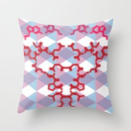 A Chemical Connection Throw Pillow