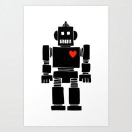 Loverbot Art Print