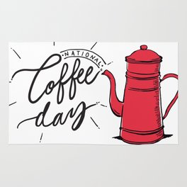 National Coffee Day Rug