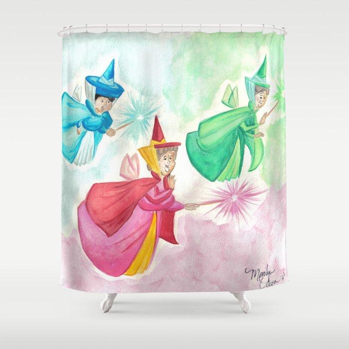 Faries Shower Curtain