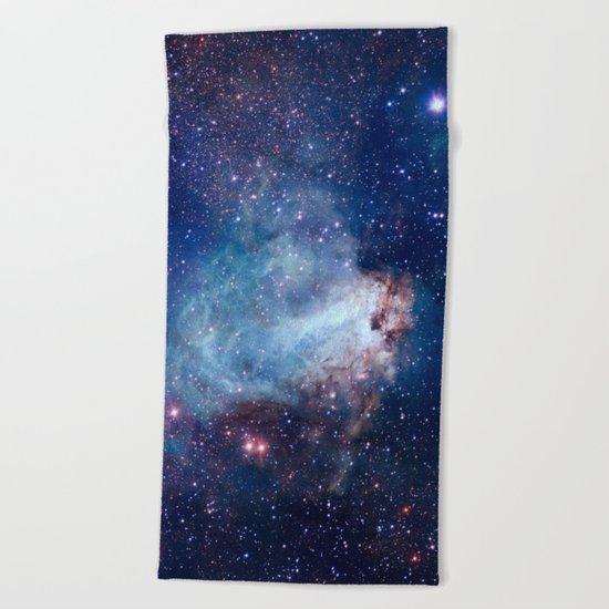 Omega Nebula Beach Towel