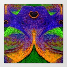 Internal Kaleidoscopic Daze- 12 Canvas Print