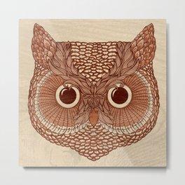 Owlustrations 2 Metal Print