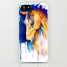 Equestrian Beauty iPhone Case