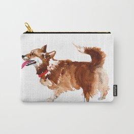 watercolor dog vol 15 corgi Carry-All Pouch