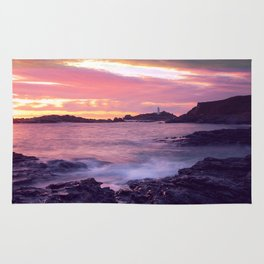 Godrevy Sunset - Cornwall Rug