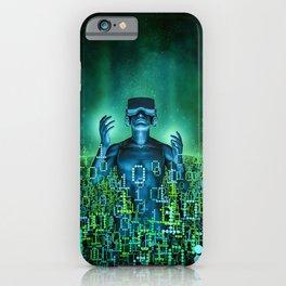 Virtual Dawn iPhone Case