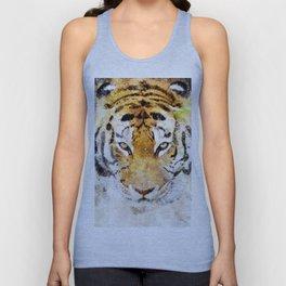 Tiger Watercolor Unisex Tank Top