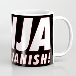 Ninja Vanish Coffee Mug