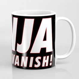 Ninja Vanish Coffee Mug