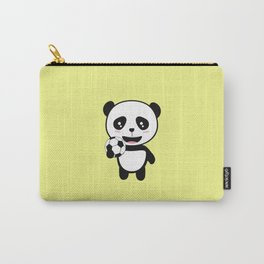 Soccer Panda with ball T-Shirt for all Ages Dkbjf Carry-All Pouch