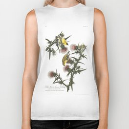 Goldfinch And Thistle Biker Tank