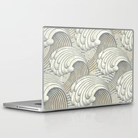 waves Laptop & iPad Skins featuring waves by Vickn