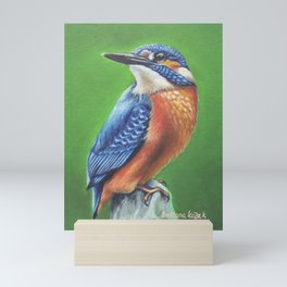 Viabrant Kingfisher Mini Art Print